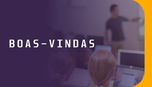 Boas-Vindas